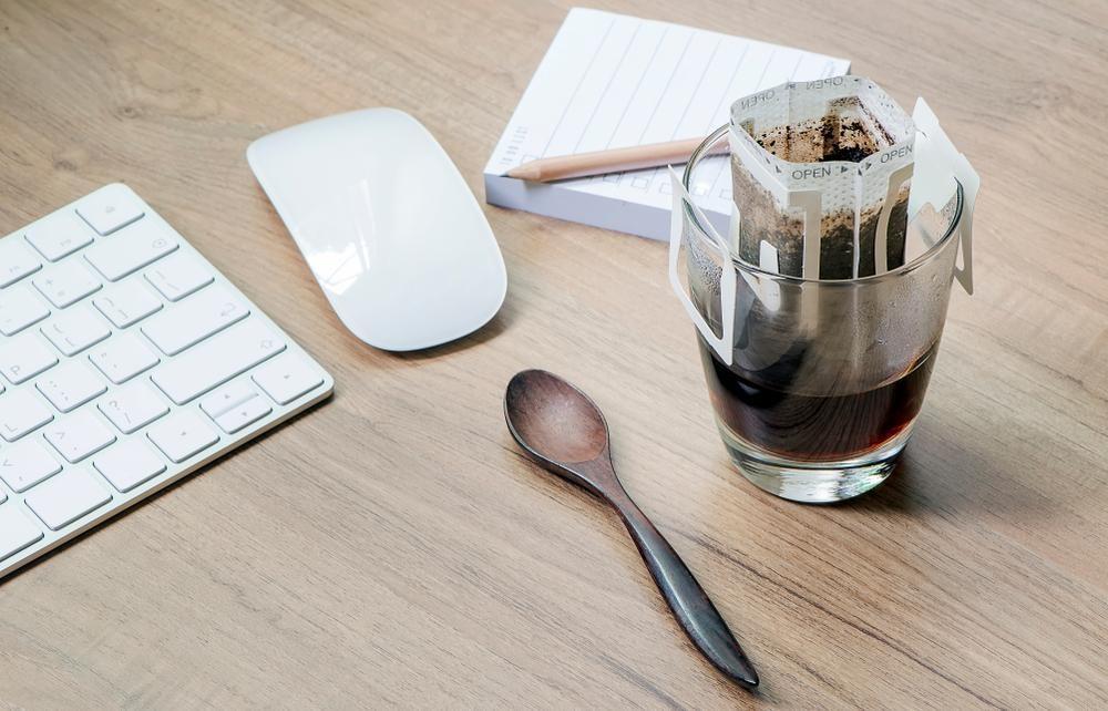 濾掛式咖啡泡法